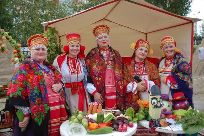 Праздник урожая в Сургуте