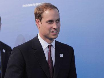 Принц Уильям (Prince William) предложил гостям церемонии сделать благотворительный взнос