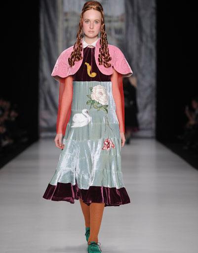 Показ коллекции модного Дома «Татьяна Парфенова» осень-зима 2013/14 Mercedes-Benz Fashion Week Russia