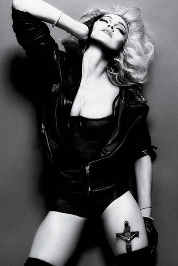 Мадонна и эротические фотографии