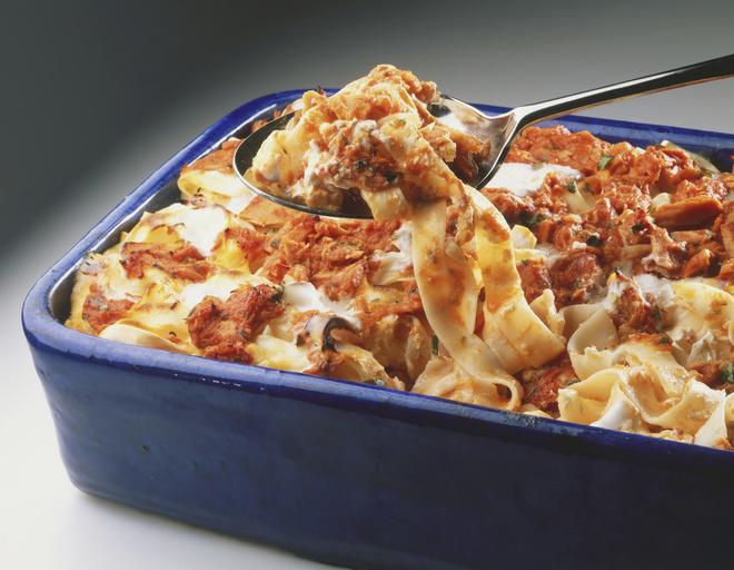 как приготовить запеканку из макарон с колбасой
