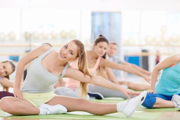 Упражнения на растяжку: видео