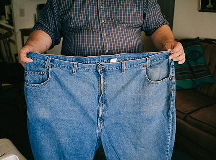 «Я похудел на 66 килограммов»