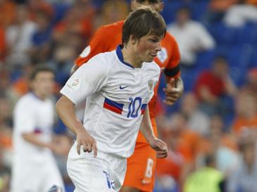 Андрей Аршавин во время матча