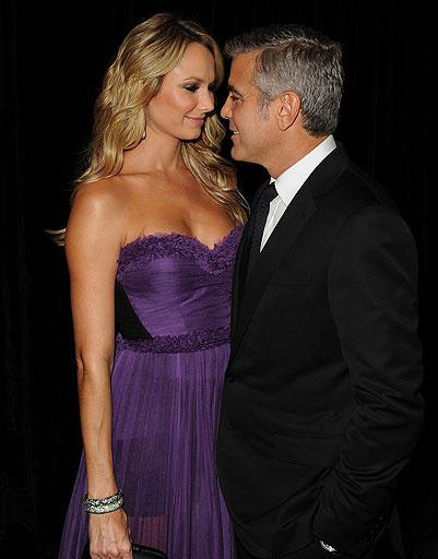 Джордж Клуни (George Clooney) и Стейси Киблер (Stacey Keibler)