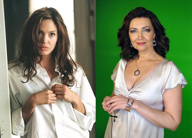 Актриса Ольга Зубкова - официальный голос Анджелины Джоли в России