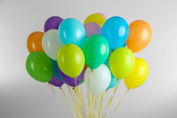Оформление помещения воздушными шарами