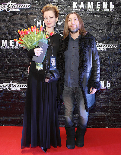 Шура Би-2 с женой Лизой
