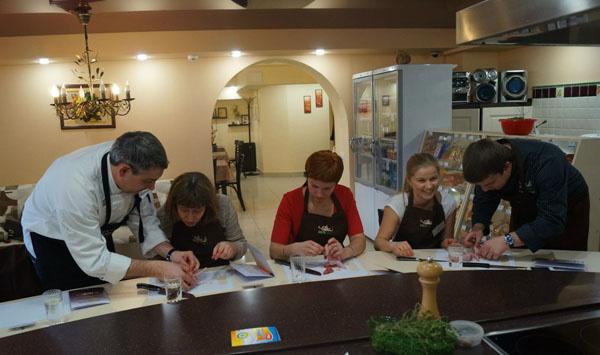 Мастер классы для шеф поваров в екатеринбурге