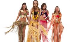 Пошив гавайской юбки – это легко и просто
