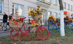 В Белгороде установили новые забавные скульптуры в осеннем стиле