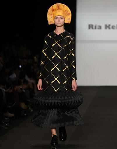 Показ коллекции RIA KEBURIA осень-зима 2013/14 на Mercedes-Benz Fashion Week Russia