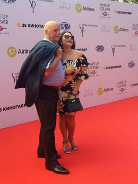 Кинотавр-2015: Станислав Говорухин и Наташа Королева фото