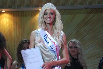 Татьяна Сергеева, участница конкурса «Мисс Москва-2009»