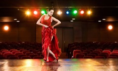 Шьем длинную широкую юбку для танца фламенко
