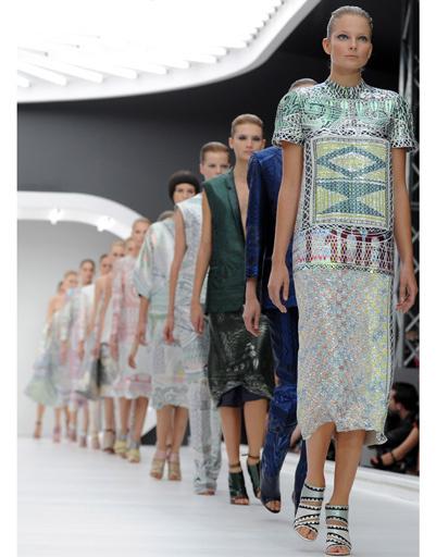 Неделя моды в Лондоне: Mary Katrantzou, весна-лето 2013