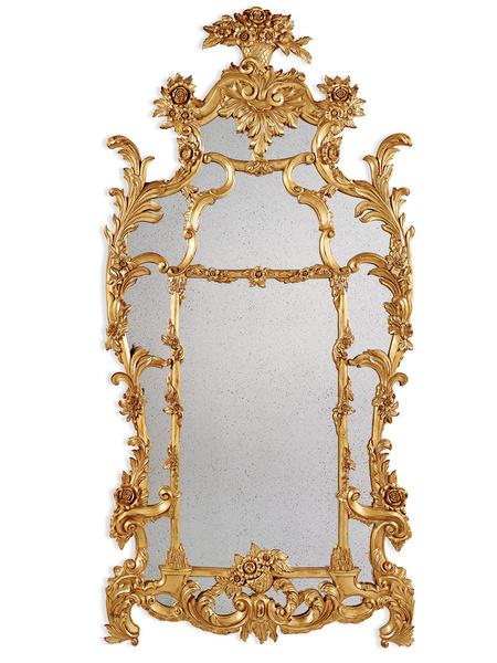Зеркало One Fifth Mirror, Ralph Lauren Home, www.ralphlaurenhome.com, салоны Galerie 46, Park Avenue, Lege Alto.