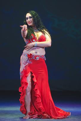 Надежда Киселева самая обворожительная восточная танцовщица Самары