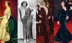 Бархат в гардеробе: от королевы Виктории до Моники Беллуччи