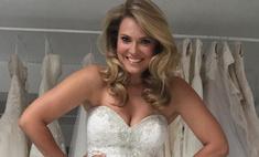 Самая популярная модель plus size выходит замуж?