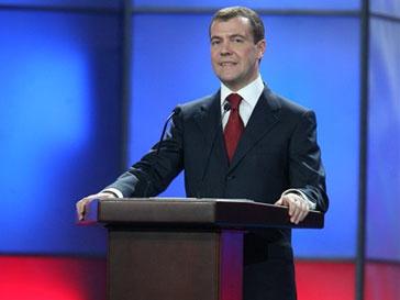 Президент России Дмитрий Медведев успокоил россиян