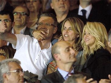 У Шакиры (Shakira) прекрасные отношения с родителями Пике.
