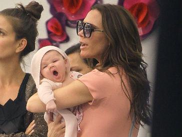 Виктория Бекхэм (Victoria Beckham) видит будущее дочери в индустрии моды