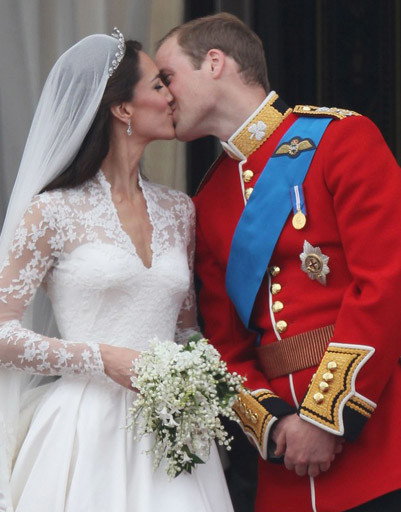 Кейт Миддлтон (Kate Middleton) и принц Уильям (Prince William)