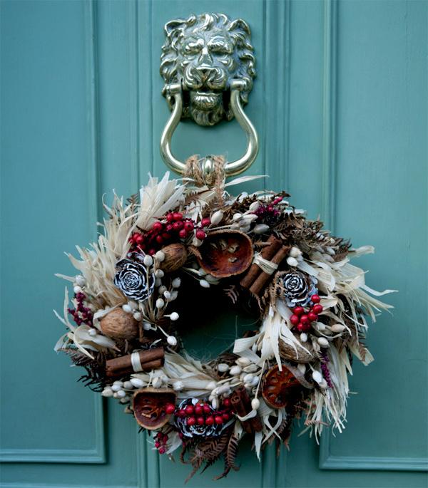 Как украсить дом на Новый год и Рождество в европейском стиле