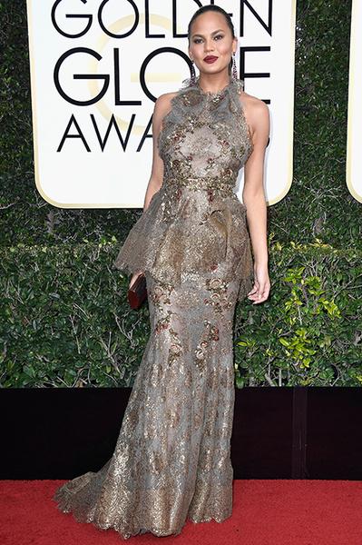 Крисси Тейген на Золотом глобусе-2017
