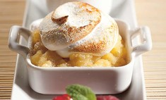 Яблочный десерт