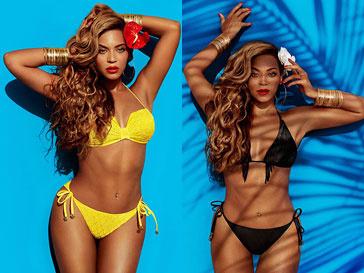 Бейонсе (Beyonce) в рекламной кампании H&M весна-лето 2013