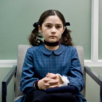 Ребенок-убийца в исполнении Изабель Фурман.