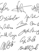 Собственные автографы и подписи