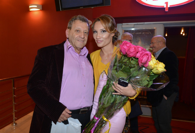 Борис Грачевский и его новая молодая супруга
