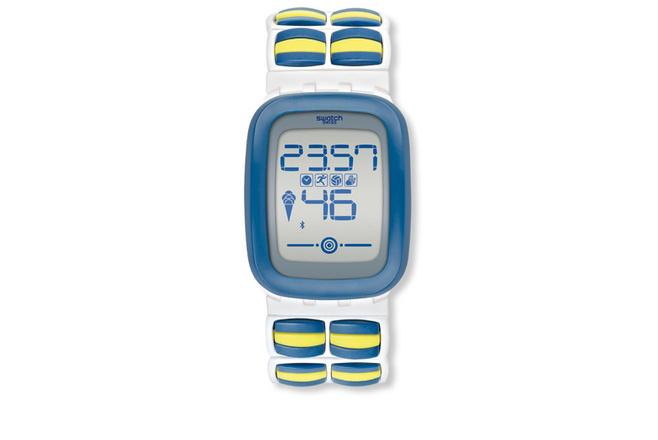 Интерактивные часы Swatch Touch Zero One, 6000 р.