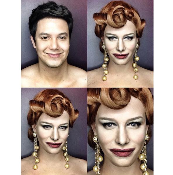 Филиппинский визажист перевоплотился в звезд с помощью макияжа   галерея [1] фото [15]
