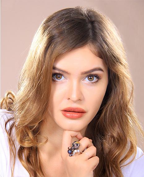 Анна Муртузаева, участница конкурса «Мисс Мегаполис», фото