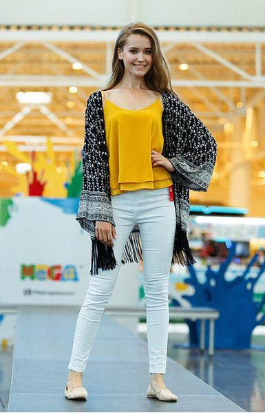 Елизавета Аниховская, участница «Мисс Екатеринбург - 2016», фото