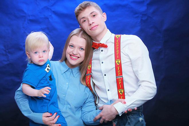Актриса Мария Виненкова с детьми, фото