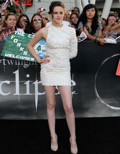 """Кристен Стюарт (Kristen Stewart) на премьере """"Сумерки. Сага. Затмение"""", 2010 год"""