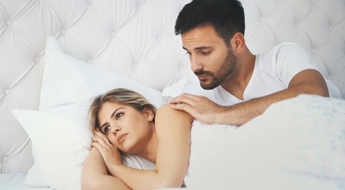 Если я хочу секса а муж нет