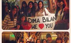 Дима Билан задал в Греции моду на русский язык