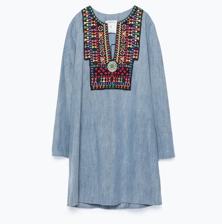 Платье Zara, 3999 руб.