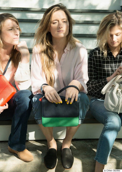 Мэми, Грейс и Луиза Гаммер в рекламной кампании & Other Stories