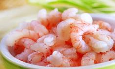 Дары моря: креветки в сливочно-чесночном соусе