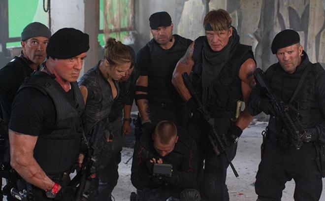 кадр из фильма «Неудержимые-3»