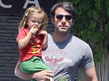 Бен Аффлек (Ben Affleck) готовится к роли многодетного отца