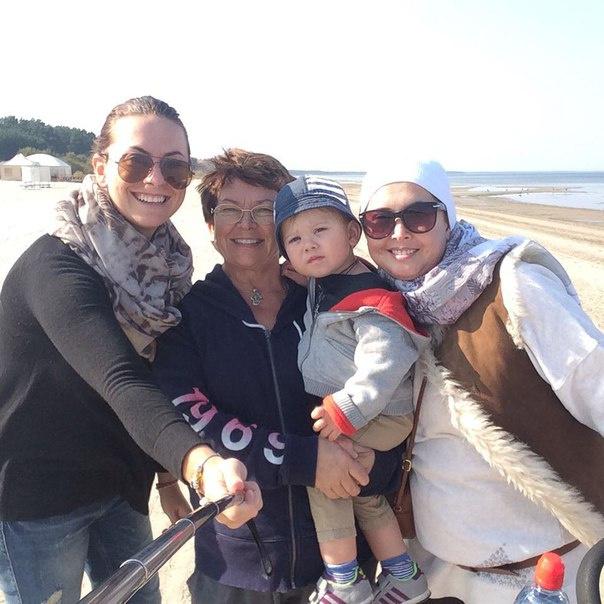 Жанна Фриске с семьей фото