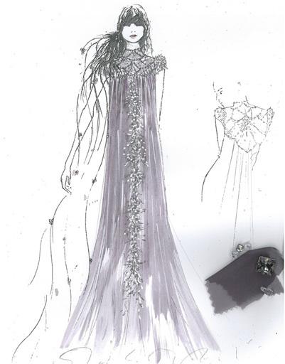 Платье Jenny Peckham для Рапунцель